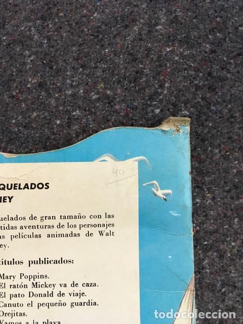 Tebeos: El Pato Donald de viaje - Cuento troquelado gigante - 1966 D50 - Foto 11 - 101208515