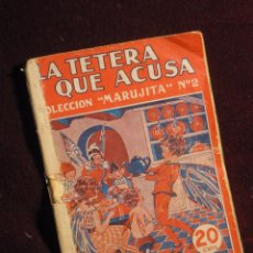 Livros de Banda Desenhada: LA TETERA QUE ACUSA. COLECCIÓN MARUJITA. Nº 2. Lote 102723327