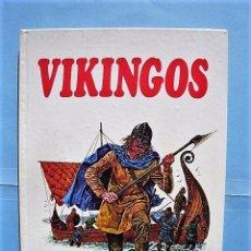 Tebeos: VIKINGOS DE MICHAEL GIBSON. PUEBLOS DEL PASADO Nº 4. ED. MOLINO 1977. Lote 103481351