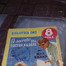 Tebeos: BIBLIOTECA ORO - SERIE AMARILLA Nº 229 - EL SECRETO DEL DOCTOR KILDARE - EDITORIAL MOLINO. Lote 103605895