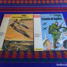 Tebeos: MUY BUEN ESTADO. PILOTO MOLINO. MICHEL TANGUY ESCUELA DE ÁGUILAS Y POR EL HONOR DE LA BANDERA. 1965.. Lote 103963203