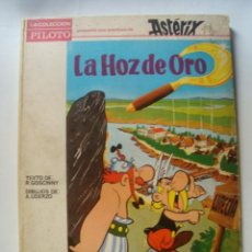 Livros de Banda Desenhada: LA HOZ DE ORO - GOSCINY Y UDERZO (MOLINO. COLECCIÓN PILOTO ASTÉRIX Y OBÉLIX Nº 3 1966). TAPAS DURAS. Lote 106905659