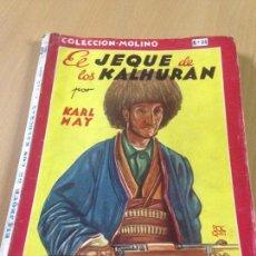 Tebeos: EL JEQUE DE LOS KALHURAN KARL MAY COLECCION MOLINO COMIC. Lote 107225123