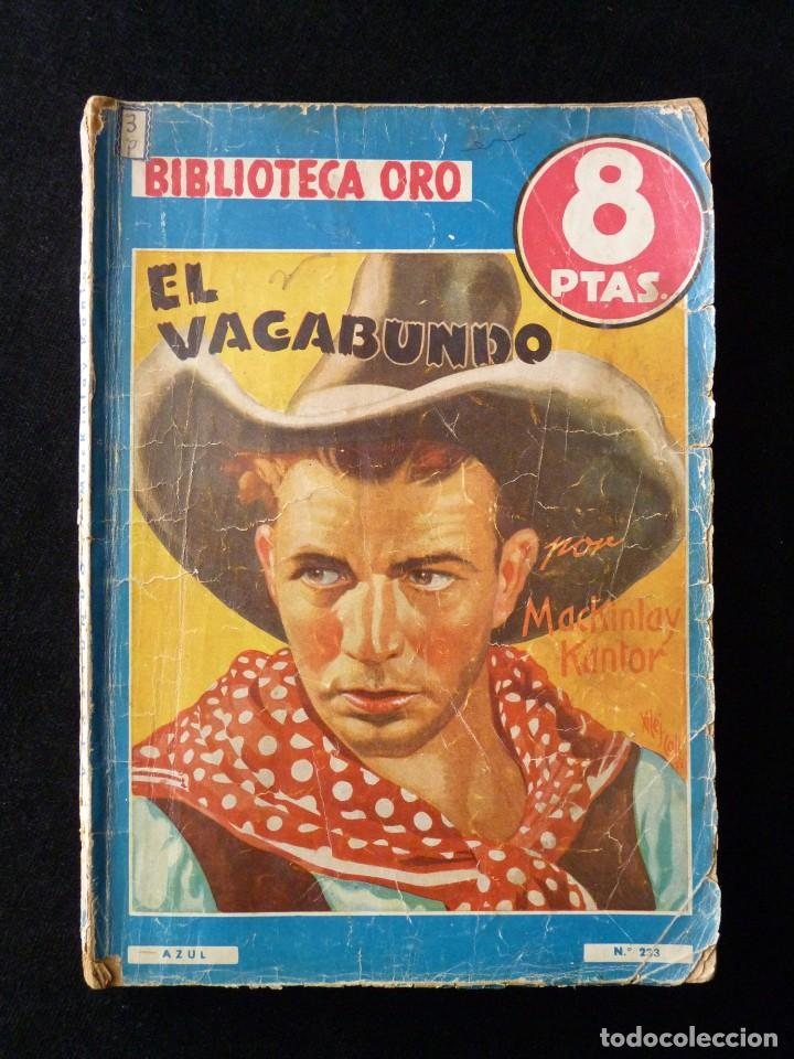 Tebeos: LOTE DE 4 NOVELAS COLECCIÓN BIBLIOTECA ORO EDITORIAL MOLINO, AÑO 1934-48 - Foto 6 - 108689851
