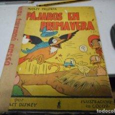 Tebeos: PAJAROS EN PRIMAVERA 1935 WALT DISNEY. Lote 110043443
