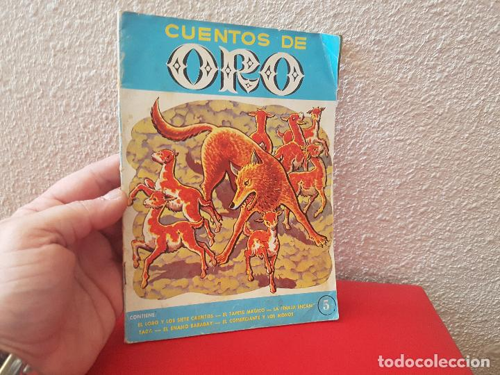 ANTIGUO CUENTO LIBRO EDITORIAL SUSAETA 1965 CUENTOS DE ORO Nº 5 COLECCION COQUITO (Tebeos y Comics - Molino)