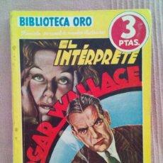 Tebeos: EL INTERPRETE, BIBLIOTECA ORO. Lote 111331971