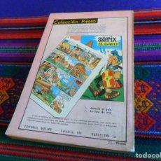 Tebeos: PUBLICIDAD ASTERIX EL GALO COLECCIÓN PILOTO EDITORIAL MOLINO EN CONTRAPORTADA NOVELA BIBLIOTECA ORO.. Lote 111337159