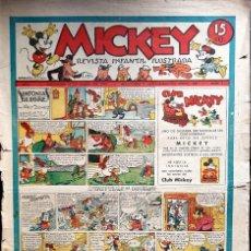 Tebeos: MICKEY (MOLINO, 1935) COLECCIÓN COMPLETA 1 AL 74, A FALTA DE LOS NÚMEROS 4 Y 27.. Lote 111450163