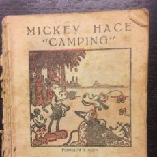 Tebeos: MICKEY HACE CAMPING, 1934. Lote 111621675