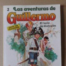 Tebeos: LAS AVENTURAS DE GUILLERMO N°2: EL BAILE DE DISFRACES. EDITORIAL MOLINO, 1980. FOTO-CÓMIC.. Lote 113985174