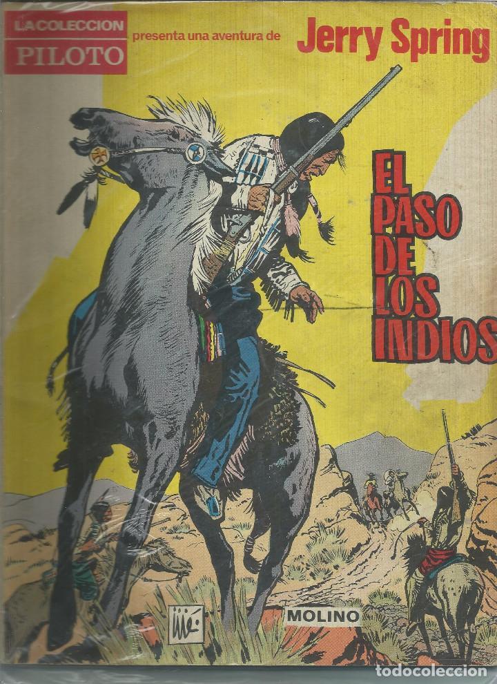 JERRY SPRING EL PASO DE LOS INDIOS Nº 1 EDITORIAL MOLINO (Tebeos y Comics - Molino)