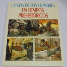 Tebeos: LA VIDA DE LOS HOMBRES EN TIEMPOS PREHISTORICOS. 1980. EDITORIAL MOLINO. . Lote 114775095