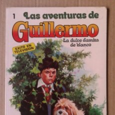 Tebeos: LAS AVENTURAS DE GUILLERMO N°1: LA DULCE DAMITA DE BLANCO. MOLINO, 1980. RICHMAL CROMPTON/FOTO-CÓMIC. Lote 116368392