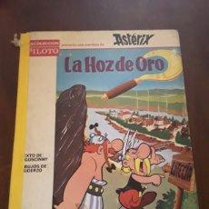 Tebeos: RARO CÓMIC DE ASTERIX LA HOZ DE ORO AÑO 1966 PRIMERA EDICIÓN. Lote 124523458