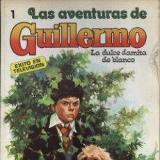 Livros de Banda Desenhada: COMIC LAS AVENTURAS DE GUILLERMO, Nº 1: LA DULCE DAMITA DE BLANCO - EDITORIAL MOLINO. Lote 129195967