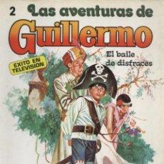 Livros de Banda Desenhada: COMIC LAS AVENTURAS DE GUILLERMO, Nº 2: EL BAILE DE DISFRACES - EDITORIAL MOLINO. Lote 129195975