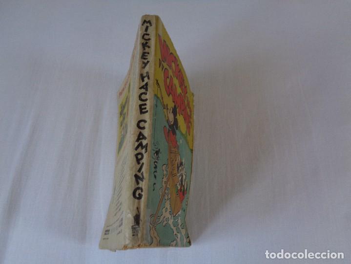 Tebeos: ANTIGUO CUENTO MICKEY HACE CAMPING, POR WALT DISNEY, ED. MOLINO, PRIMERA EDICION 1934, 160 PAGINAS - Foto 4 - 130053407