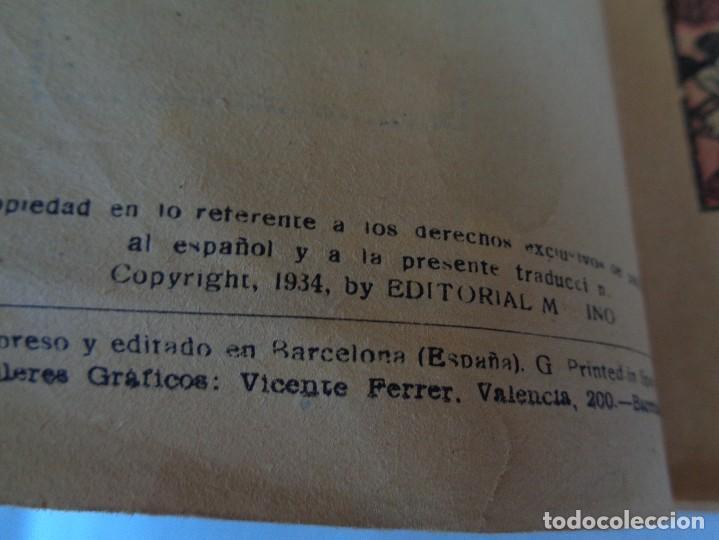 Tebeos: ANTIGUO CUENTO MICKEY HACE CAMPING, POR WALT DISNEY, ED. MOLINO, PRIMERA EDICION 1934, 160 PAGINAS - Foto 6 - 130053407
