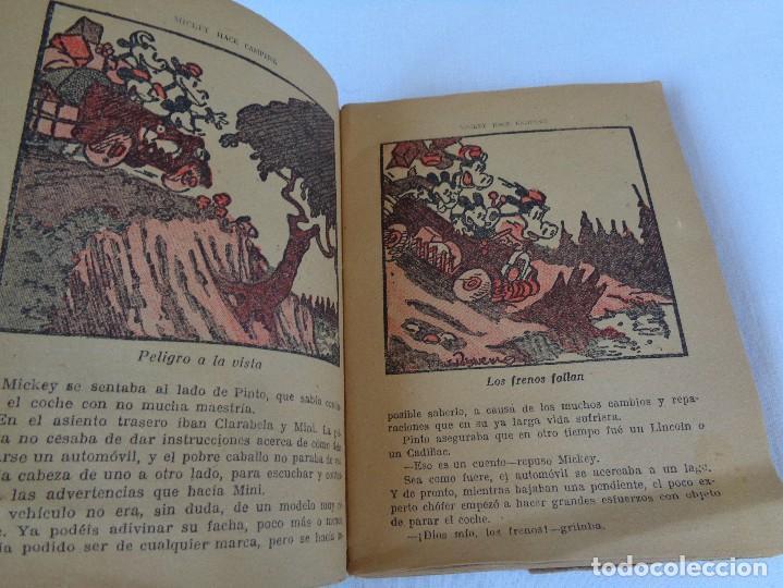 Tebeos: ANTIGUO CUENTO MICKEY HACE CAMPING, POR WALT DISNEY, ED. MOLINO, PRIMERA EDICION 1934, 160 PAGINAS - Foto 8 - 130053407