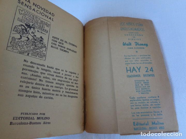 Tebeos: ANTIGUO CUENTO MICKEY HACE CAMPING, POR WALT DISNEY, ED. MOLINO, PRIMERA EDICION 1934, 160 PAGINAS - Foto 10 - 130053407