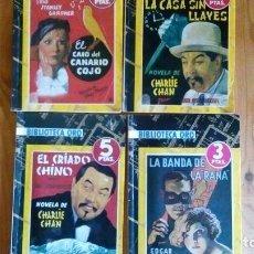 Tebeos: CUATRO NOVELAS DE LA BIBLIOTECA ORO, EDITORIAL MOLINO, DE LOS AÑOS 40, VER FOTOS. Lote 131634710