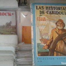 Tebeos: JULIO VERNE LAS HISTORIAS DE CABIDOULIN COLECCIÓN MOLINO NÚMERO 26. Lote 131924238