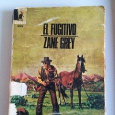 Tebeos: ZANE GREY-EL FUGITIVO. Lote 136196484