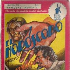 Tebeos: BIBLIOTECA ORO SERIE FAMOSAS NOVELAS EL HOROSCOPO POR ALEJANDRO DUMAS Nº 29 -126 P. 1940. Lote 137341842