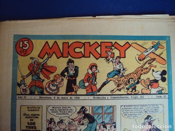 (COM-Nº62) MICKEY AÑO II 9-5-1936 (Tebeos y Comics - Molino)