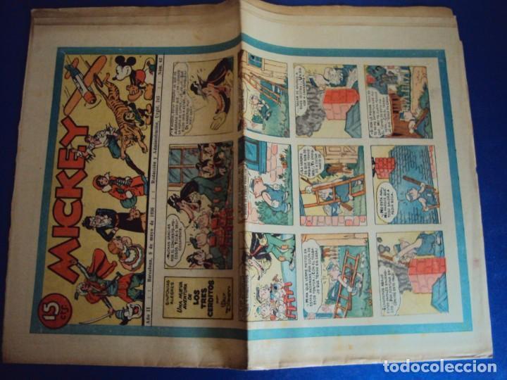 Tebeos: (COM-Nº62) MICKEY AÑO II 9-5-1936 - Foto 2 - 137879874