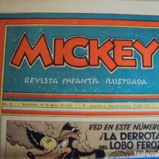 Tebeos: (COM-Nº63) MICKEY AÑO II 16-5-1936. Lote 137879970