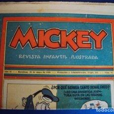 Tebeos: (COM-Nº64) MICKEY AÑO II 23-5-1936. Lote 137880054