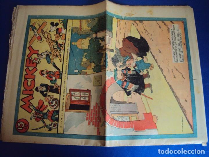 Tebeos: (COM-Nº65) MICKEY AÑO II 30-5-1936 - Foto 2 - 137880126