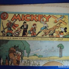 Tebeos: (COM-Nº67) MICKEY AÑO II 13-6-1936. Lote 137880266