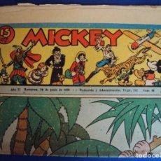 Tebeos: (COM-Nº68) MICKEY AÑO II 20-6-1936. Lote 137880346