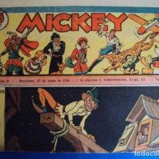 Tebeos: (COM-Nº68) MICKEY AÑO 27 6-6-1936. Lote 137880414