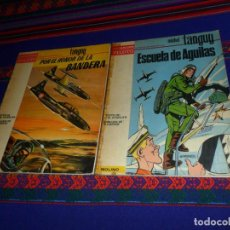 Tebeos: COLECCIÓN PILOTO MOLINO MICHEL TANGUY ESCUELA DE ÁGUILAS Y POR EL HONOR DE LA BANDERA. 1965. RAROS.. Lote 141653706