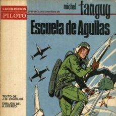 Tebeos: MICHEL TANGUY: ESCUELA DE AGUILAS (MOLINO, 1965) DE CHARLIER Y UDERZO. TAPA BLANDA.. Lote 142432802