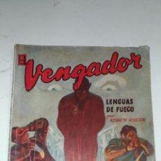Tebeos: EL VENGADOR, LENGUAS DE FUEGO. KENNETH ROBESON. COLECCIÓN HOMBRES AUDACES. 1948 BARCELONA. MOLINO. . Lote 145043674