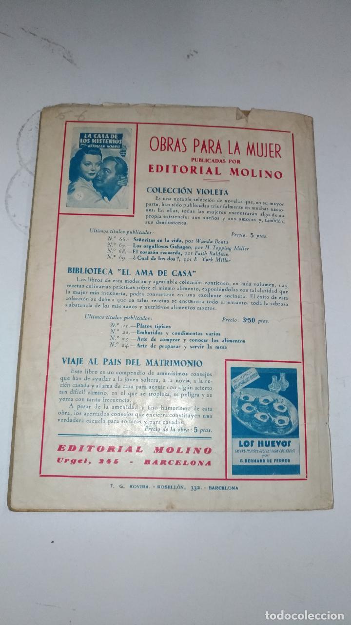 Tebeos: El Vengador, Lenguas de Fuego. Kenneth Robeson. Colección Hombres Audaces. 1948 Barcelona. Molino. - Foto 2 - 145043674
