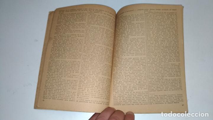 Tebeos: El Vengador, Lenguas de Fuego. Kenneth Robeson. Colección Hombres Audaces. 1948 Barcelona. Molino. - Foto 3 - 145043674