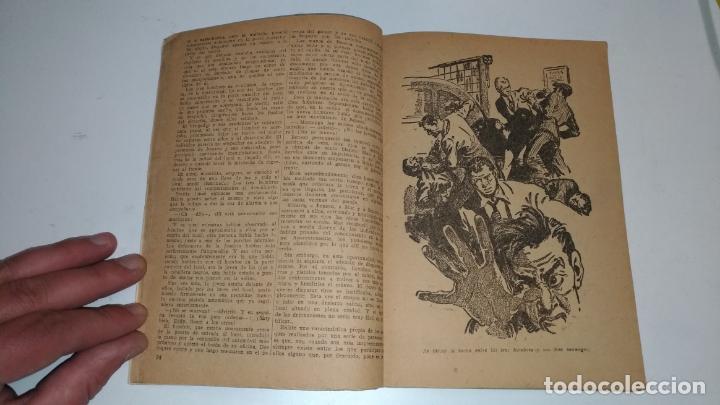 Tebeos: El Vengador, Lenguas de Fuego. Kenneth Robeson. Colección Hombres Audaces. 1948 Barcelona. Molino. - Foto 4 - 145043674