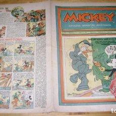 Tebeos: REVISTA MICKEY MOLINO AÑOS 30 NUMERO 64 CON PUBLICIDAD RARO SOFABIBLIO. Lote 146597230