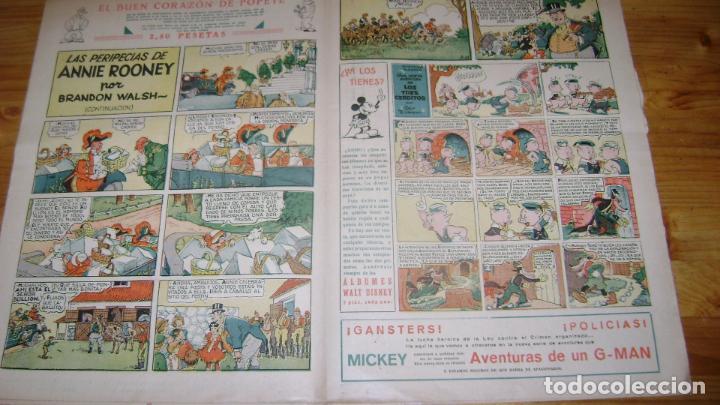 Tebeos: REVISTA MICKEY MOLINO AÑOS 30 NUMERO 64 CON PUBLICIDAD RARO SOFABIBLIO - Foto 2 - 146597230
