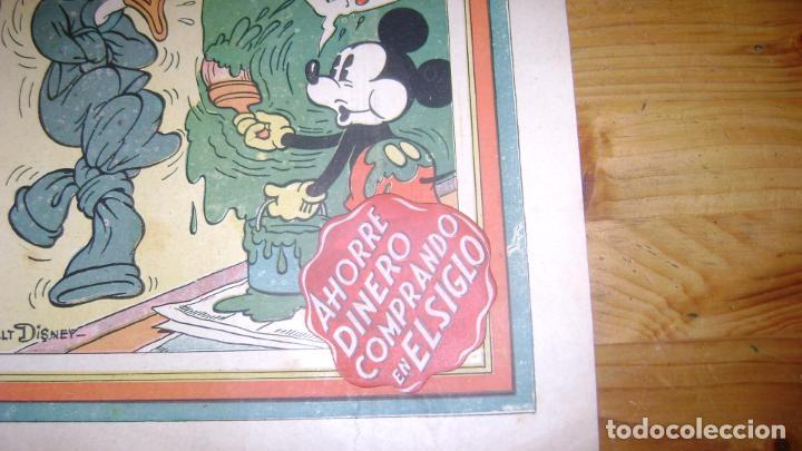 Tebeos: REVISTA MICKEY MOLINO AÑOS 30 NUMERO 64 CON PUBLICIDAD RARO SOFABIBLIO - Foto 3 - 146597230