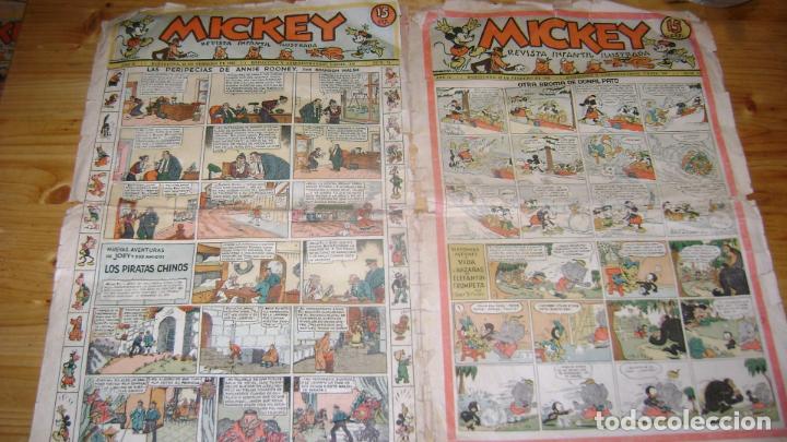 REVISTA MICKEY MOLINO AÑOS 30 NUMERO 41 SOFABIBLIO (Tebeos y Comics - Molino)