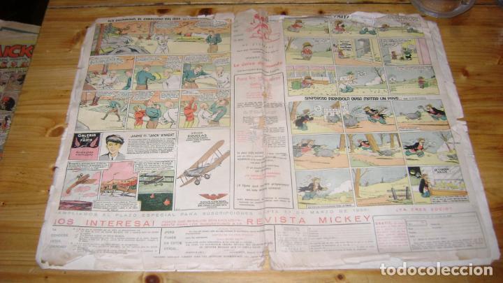 Tebeos: REVISTA MICKEY MOLINO AÑOS 30 NUMERO 41 SOFABIBLIO - Foto 2 - 146597298
