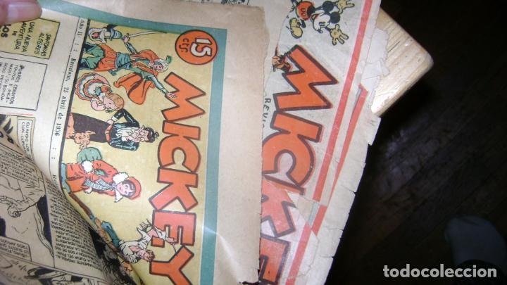 Tebeos: REVISTA MICKEY MOLINO AÑOS 30 LOTE DE SUELTOS VER DESCRIPCION SOFABIBLIO - Foto 2 - 146597654