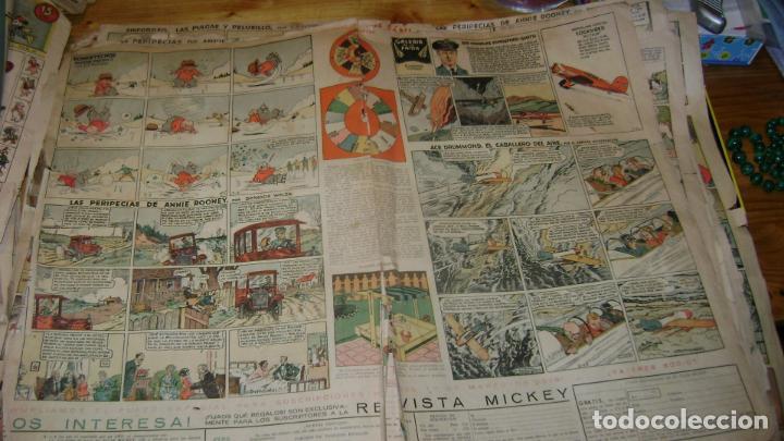 Tebeos: REVISTA MICKEY MOLINO AÑOS 30 LOTE DE SUELTOS VER DESCRIPCION SOFABIBLIO - Foto 8 - 146597654
